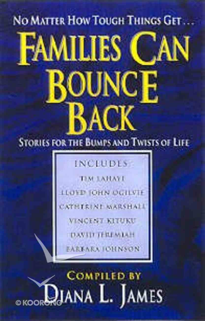 Families Can Bounce Back Paperback