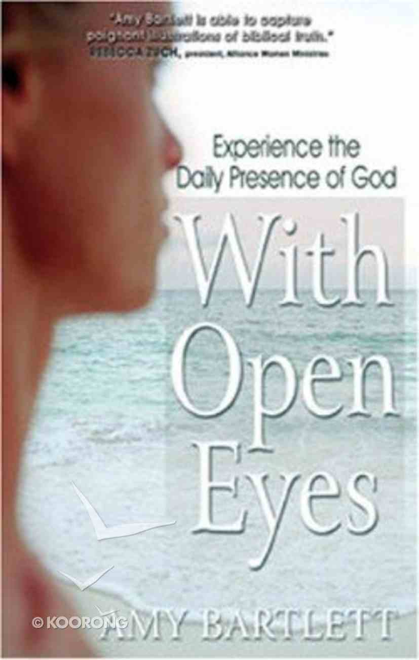 With Open Eyes Paperback