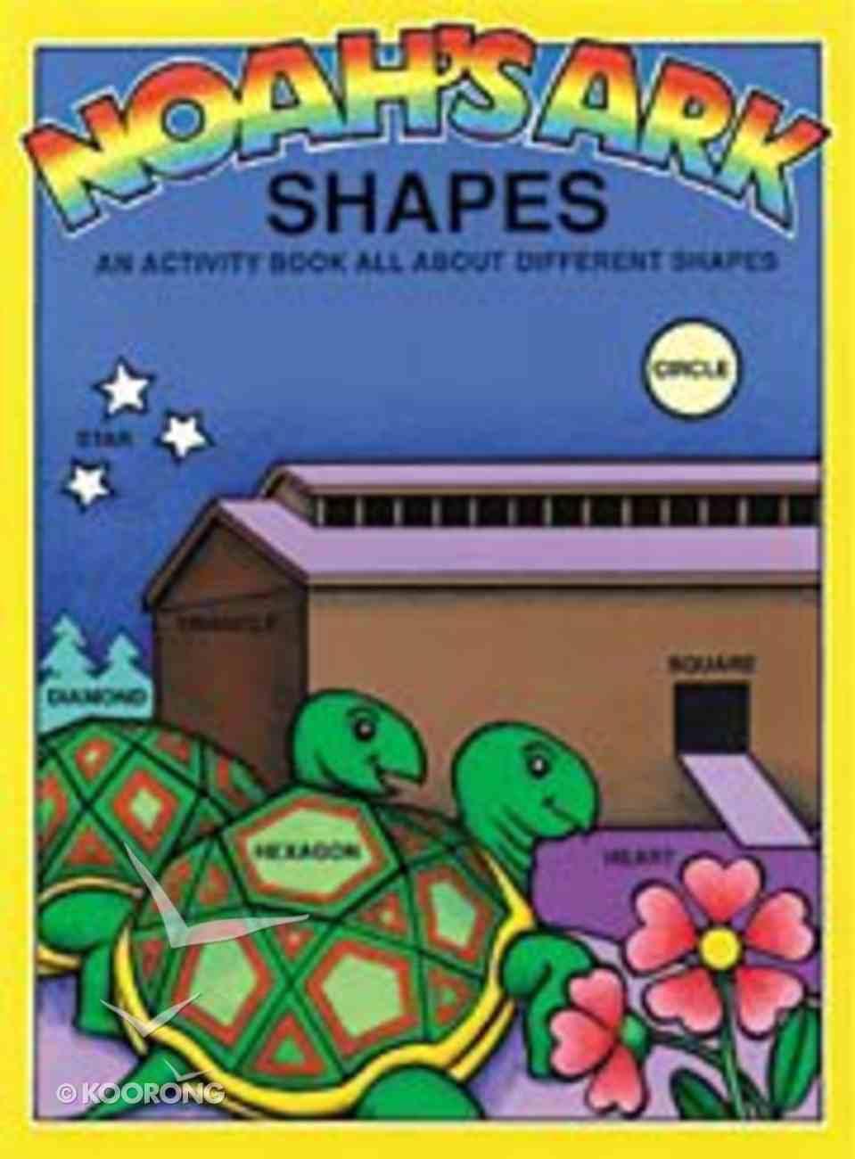Noah's Ark Shapes Paperback