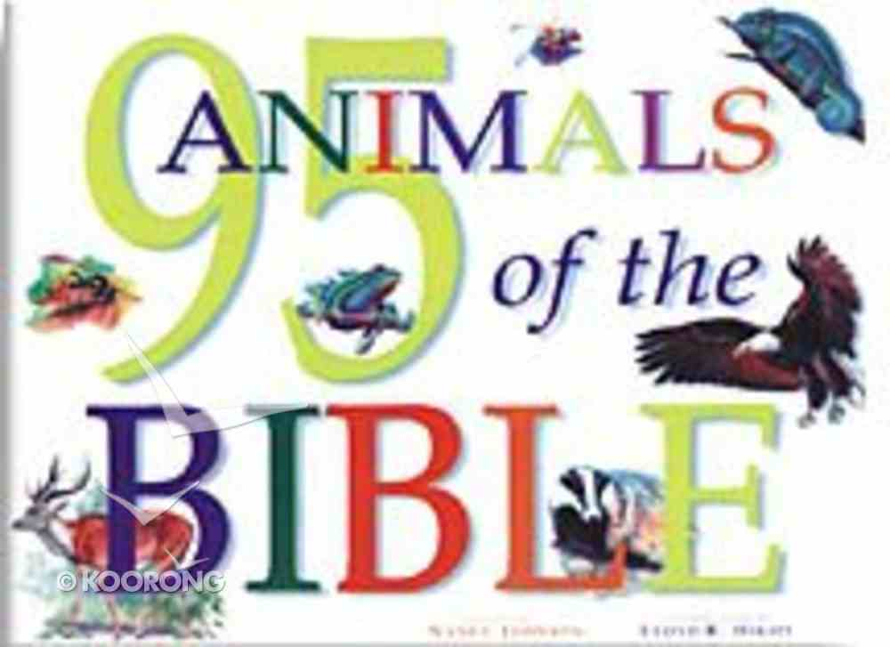 95 Animals of the Bible Paperback