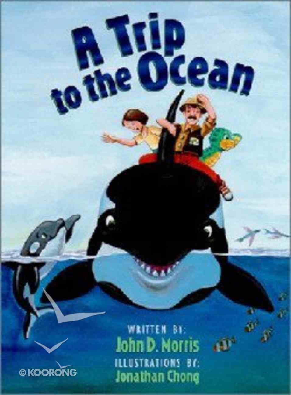 A Trip to the Ocean (Dj And Tracker John Series) Hardback