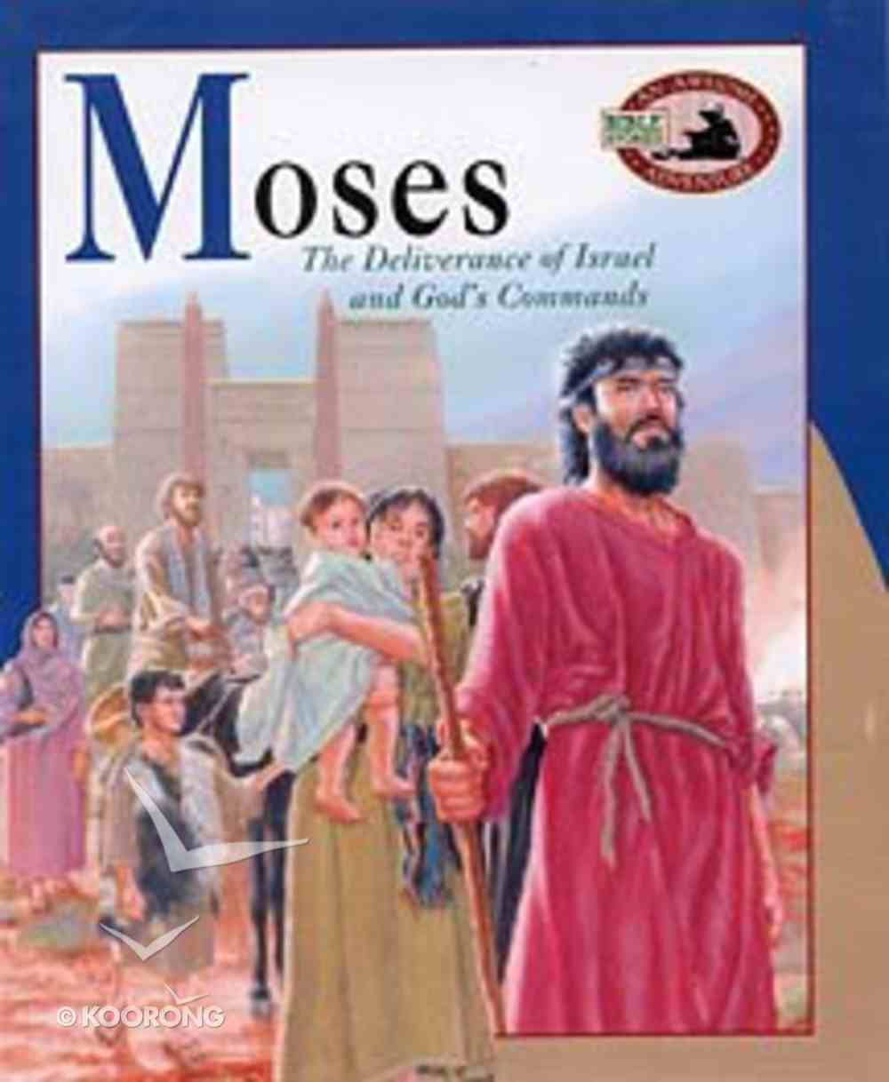 Moses (Awesome Adventure Bible Stories Series) Paperback