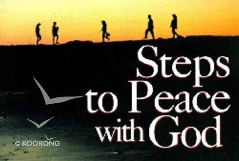 Ract Steps to Peace With God: Landscape (25 Pack) Booklet
