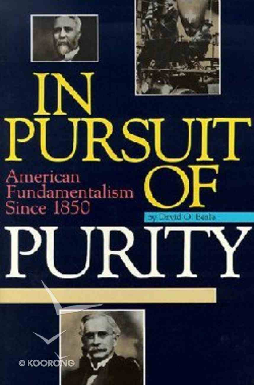In Pursuit of Purity Paperback