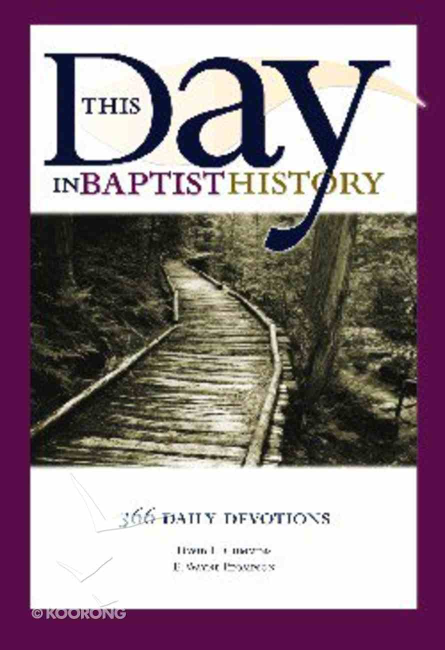 This Day in Baptist History II Paperback