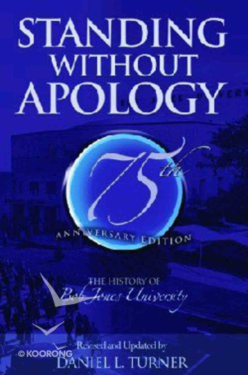 Standing Without Apology Paperback