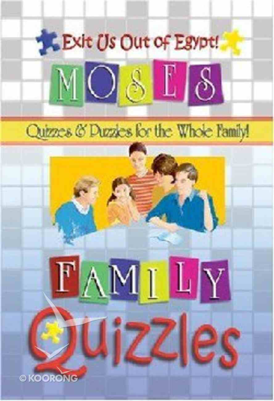 Family Quizzles: Exit Us Out of Egypt! Paperback