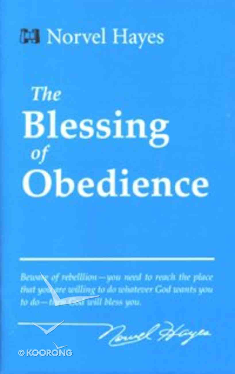 The Blessing of Obedience Booklet