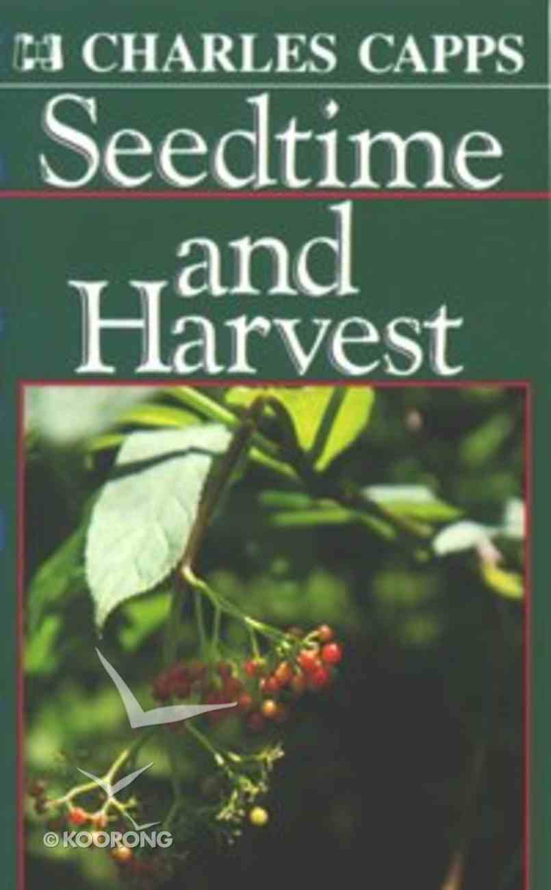 Seedtime and Harvest (Single) Booklet