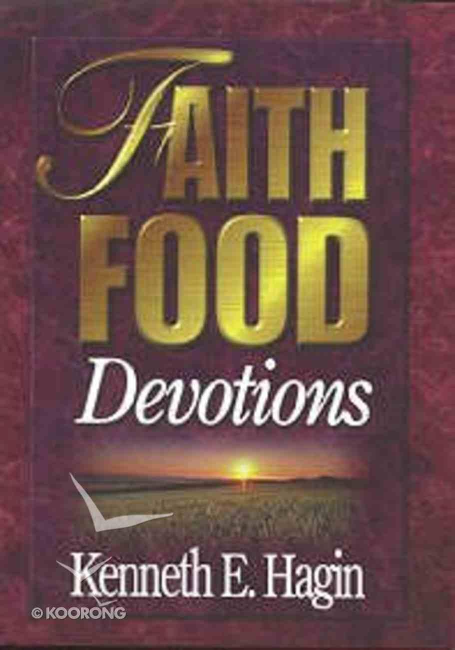 Faith Food Devotions Hardback