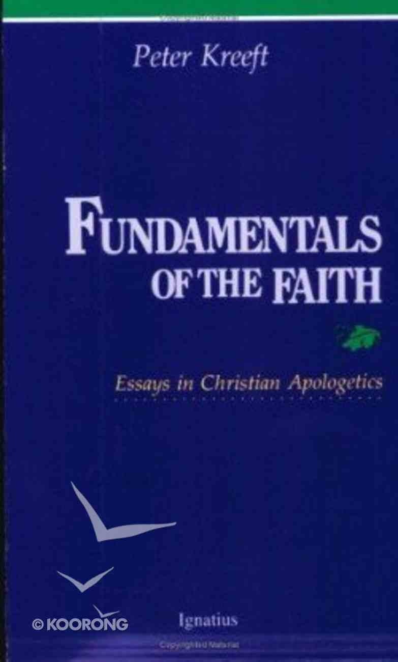 Fundamentals of the Faith Paperback