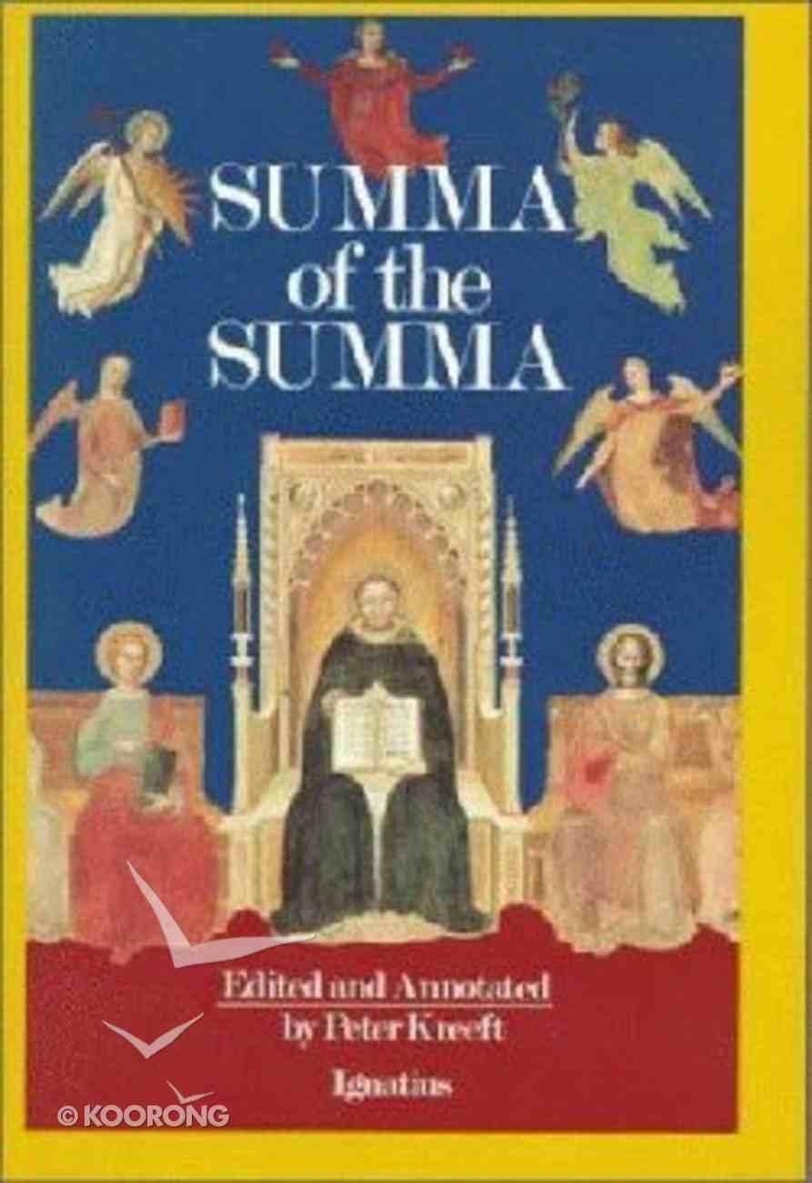 Summa of the Summa Paperback