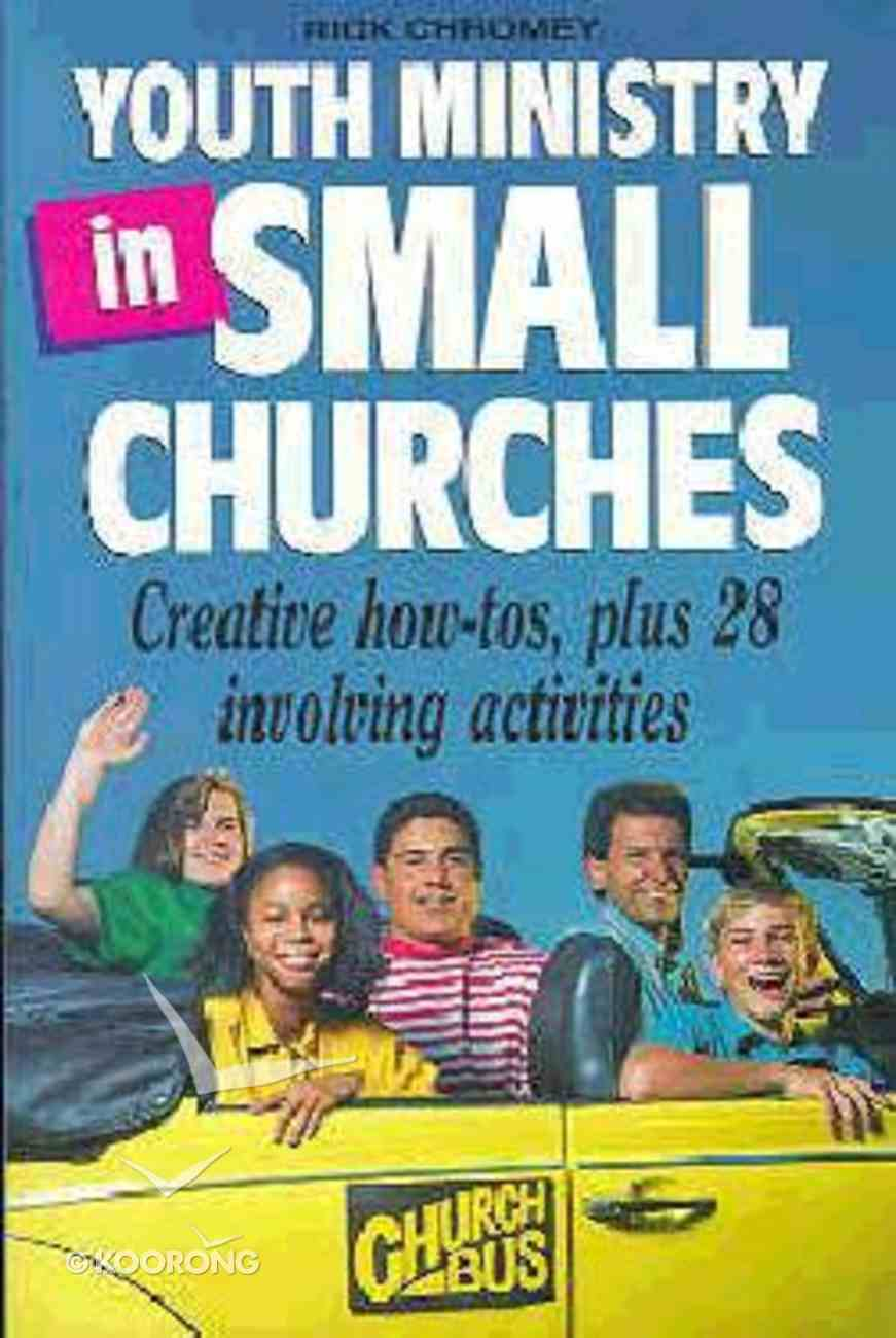 Youth Ministry in Small Churches Paperback