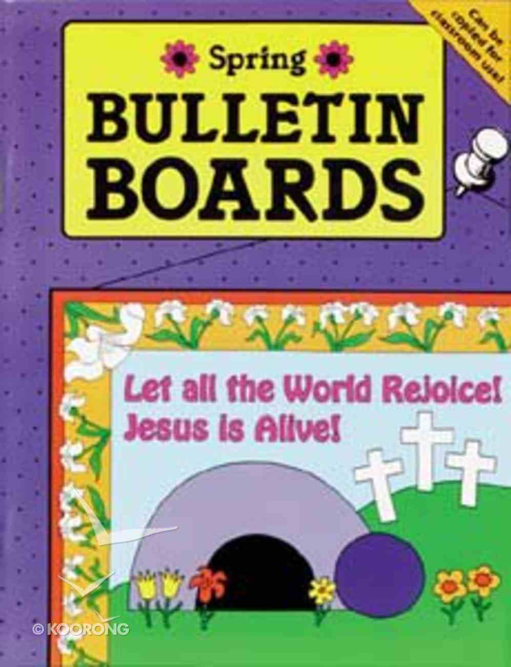 Bulletin Boards: Spring Paperback