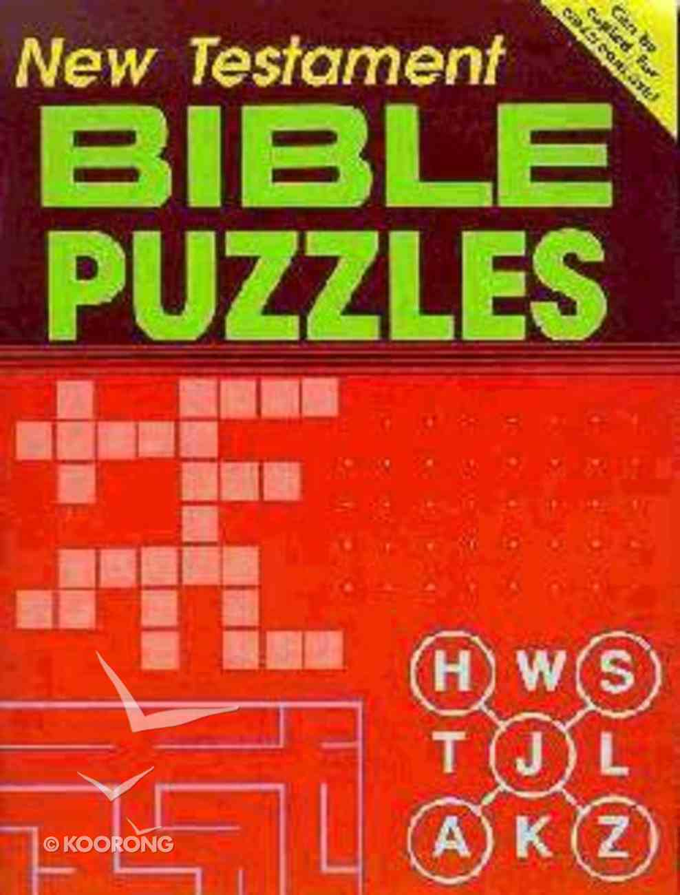 New Testament Ages 10+ (Bible Puzzles Series) Paperback