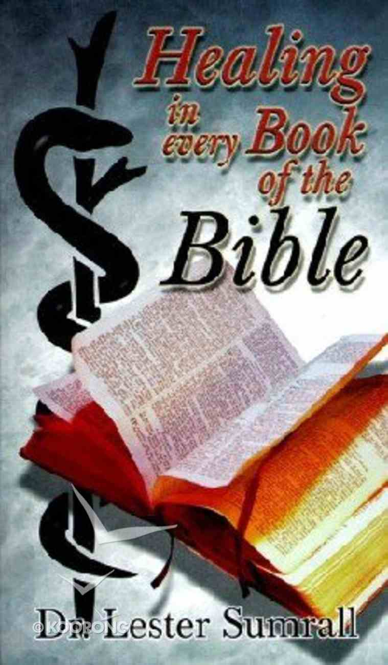 Healing in Every Book of the Bible Booklet