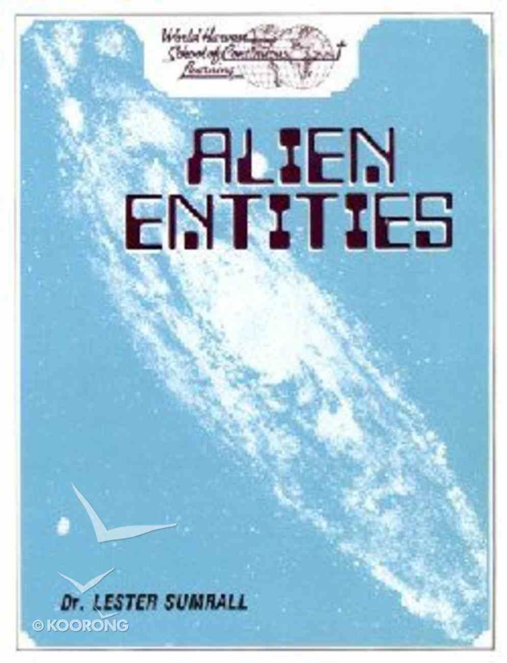 Alien Entities (Study Guide) Paperback