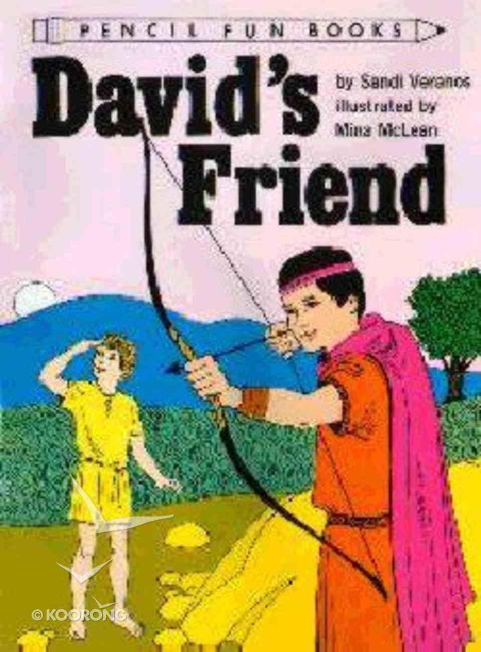 David's Friend (Pencil Fun Books Series) Paperback