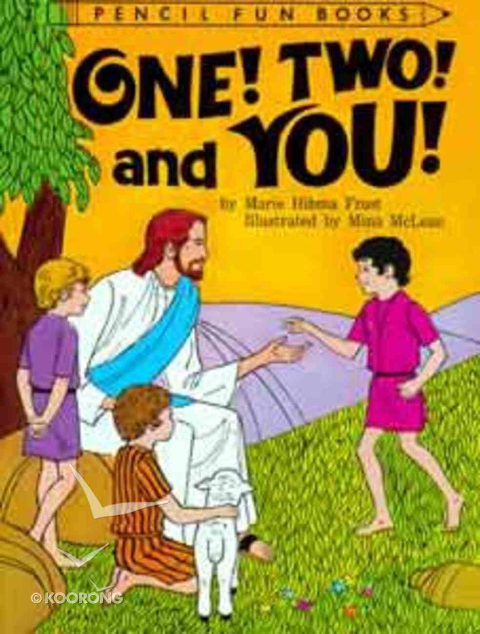 One! Two! and You (Pencil Fun Books Series) Paperback