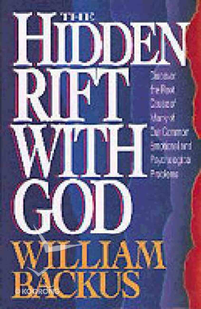 The Hidden Rift With God Paperback