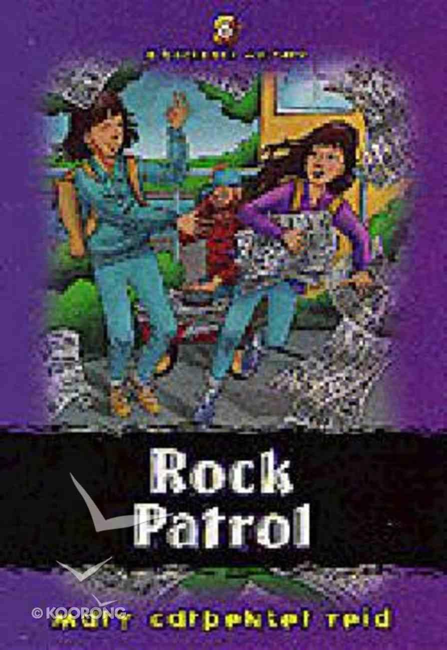 Rock Patrol (#06 in Backpack Mystery Series) Paperback