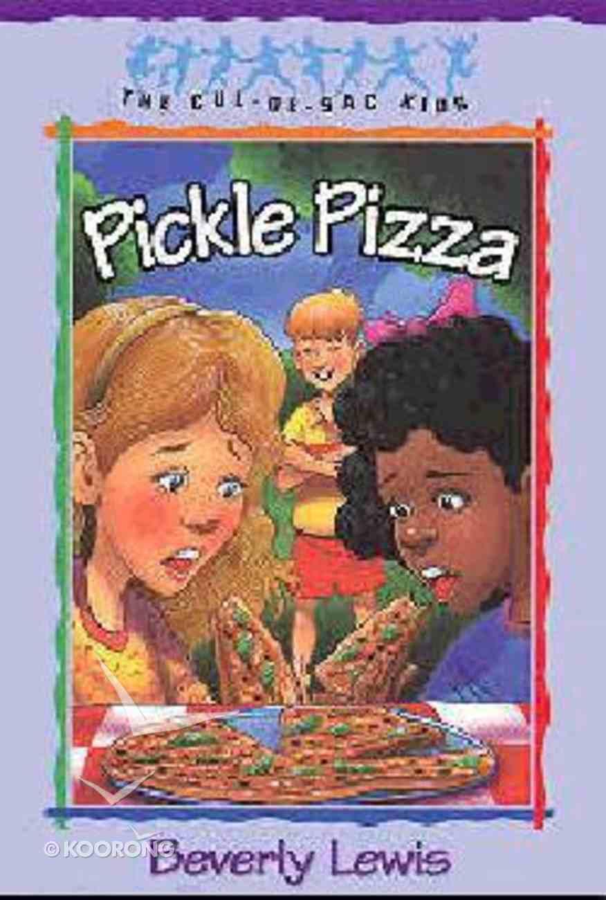 Pickle Pizza (#08 in Cul-de-sac Kids Series) Paperback