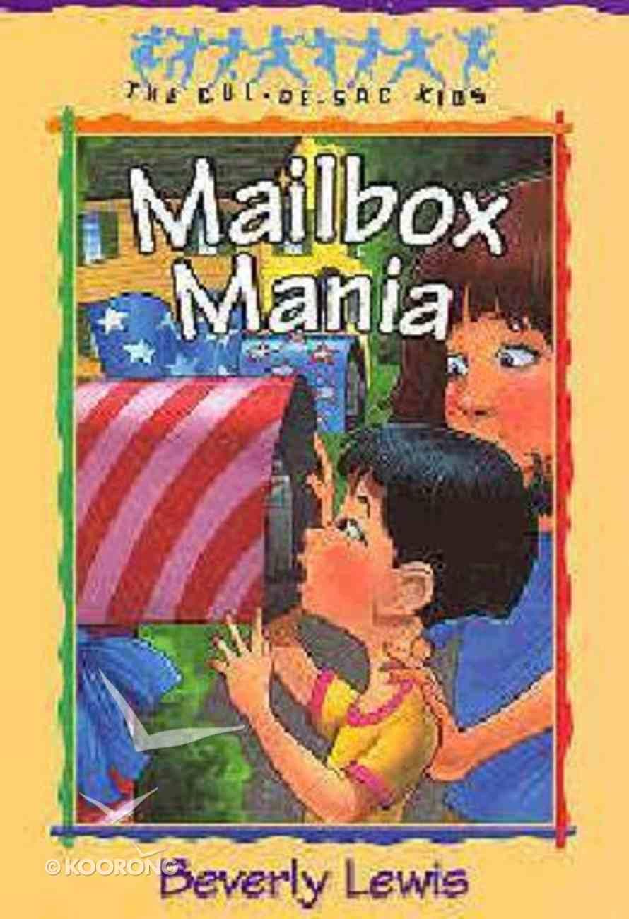 Mailbox Mania (#09 in Cul-de-sac Kids Series) Paperback