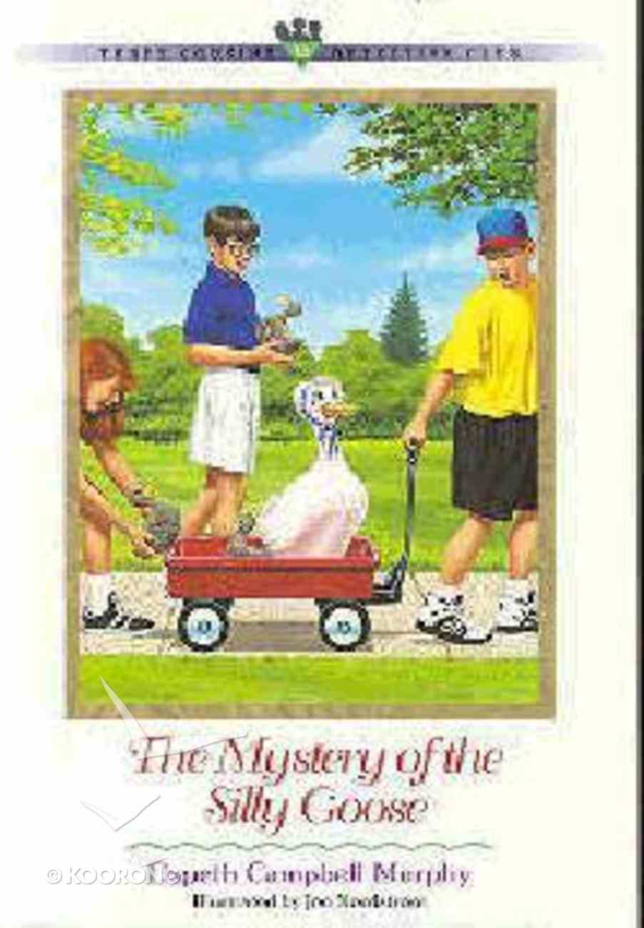 Mystery of the Silly Goose (#10 in Three Cousins Dc Series) Paperback