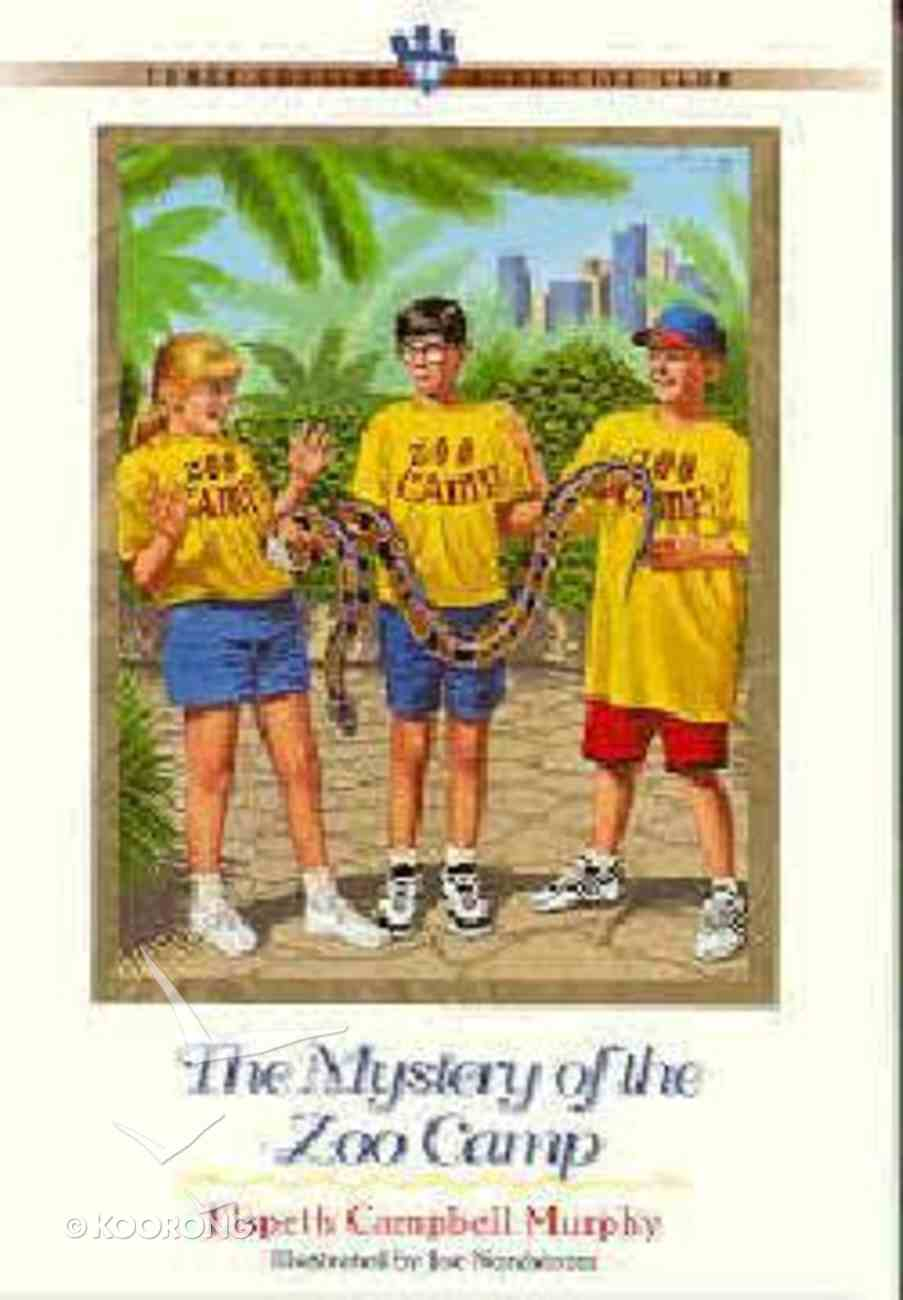 Mystery of the Zoo Camp (#14 in Three Cousins Dc Series) Paperback