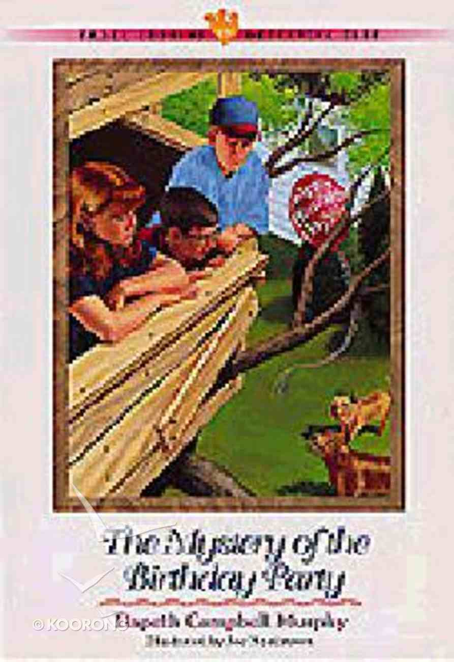 Mystery of the Birthday Party (#17 in Three Cousins Dc Series) Paperback