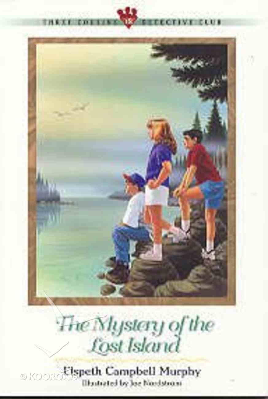 Mystery of the Lost Island (#18 in Three Cousins Dc Series) Paperback