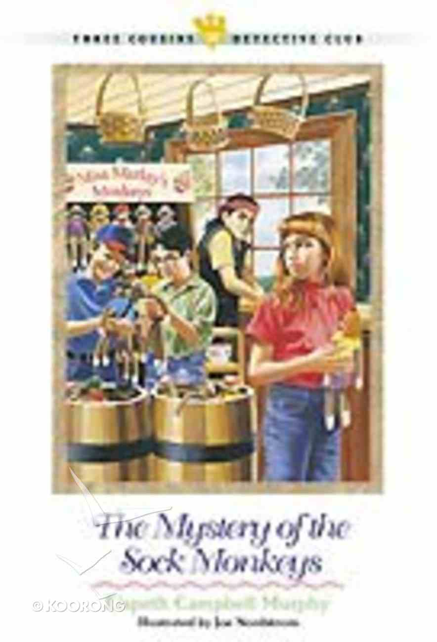 Mystery of the Sock Monkeys (#21 in Three Cousins Dc Series) Paperback
