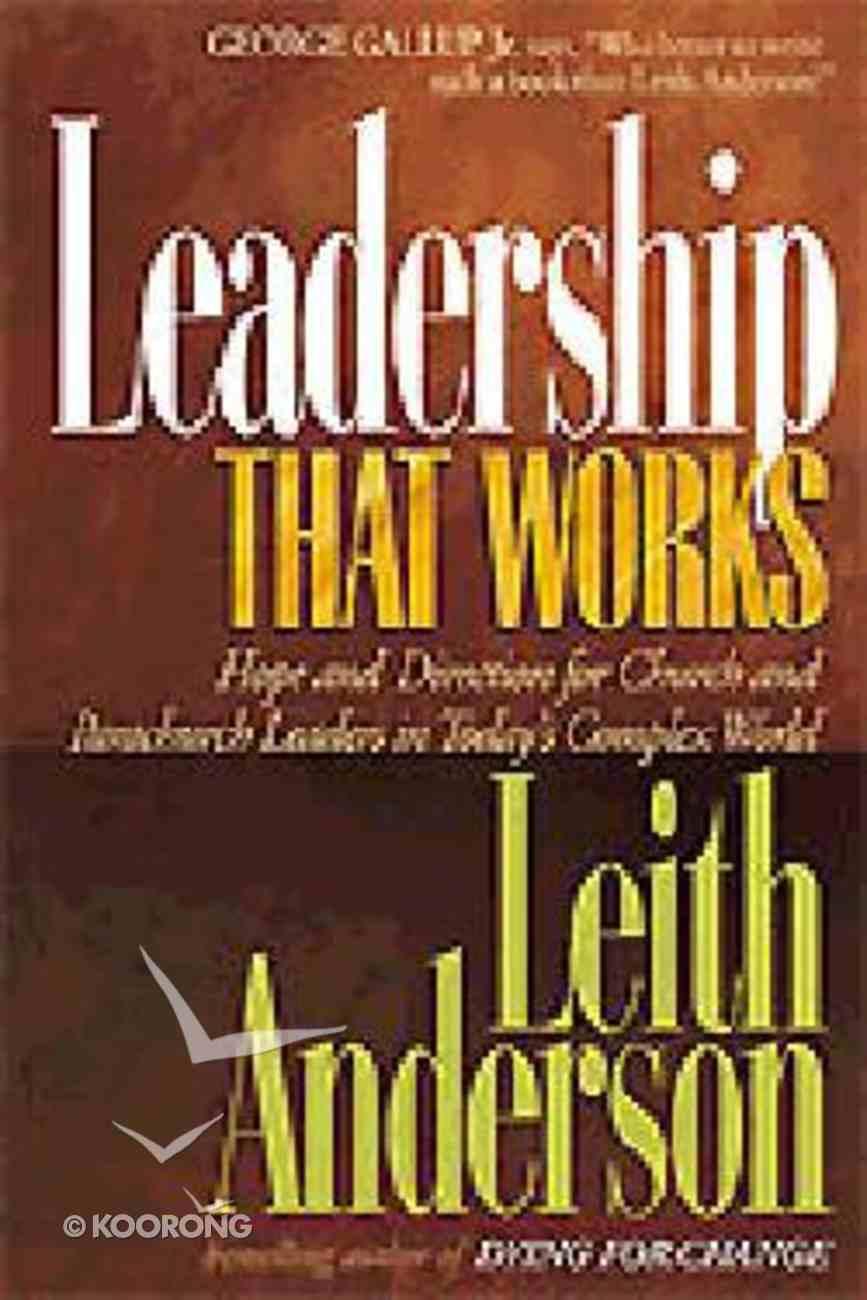 Leadership That Works Hardback