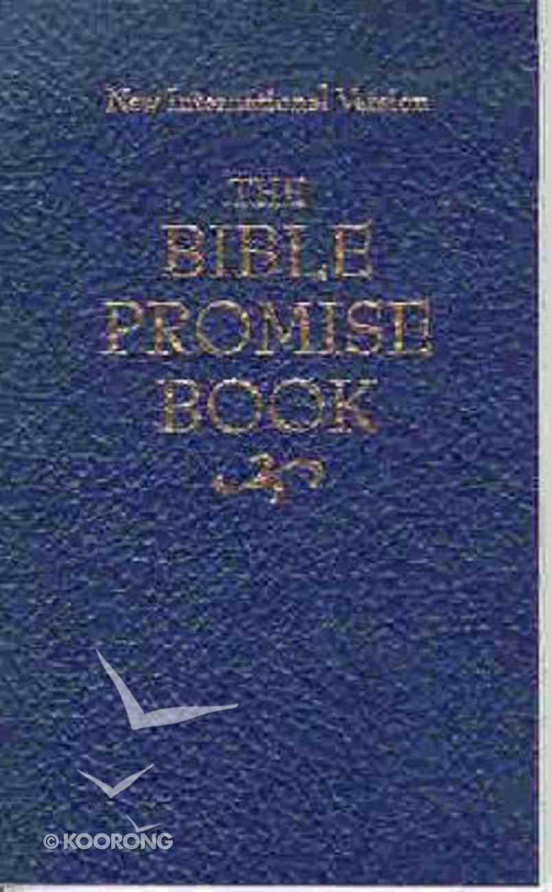 Bible Promise Book NIV Blue Paperback