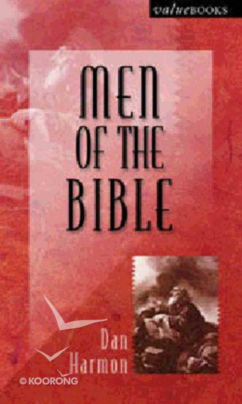 Value Books: Men of the Bible Paperback