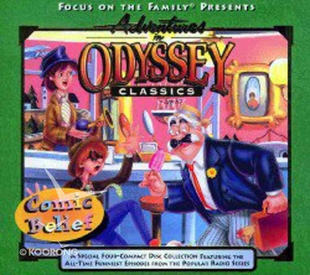 Comic Belief (#05 in Adventures In Odyssey Audio Series) CD