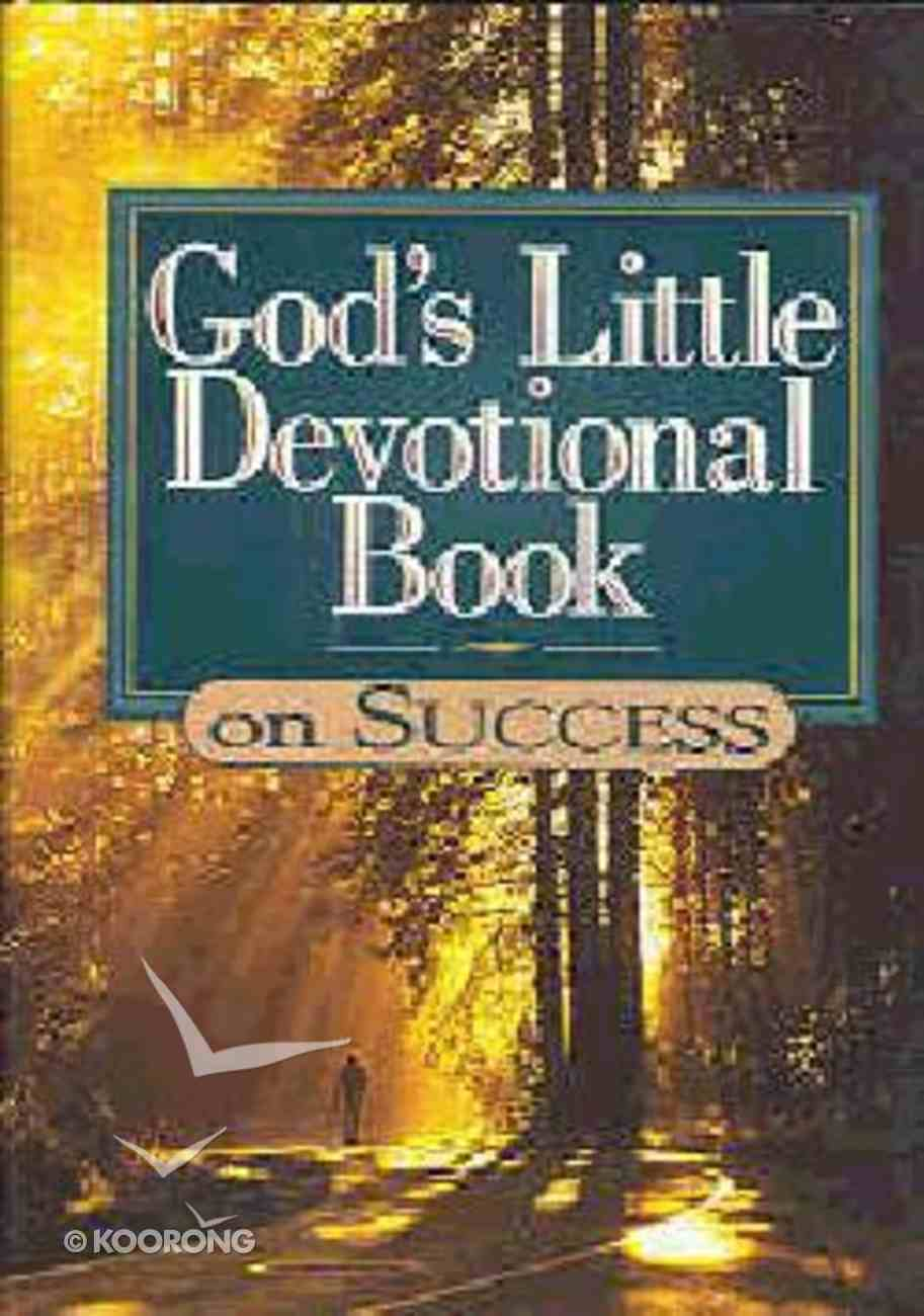 God's Little Devotional Book on Success Hardback
