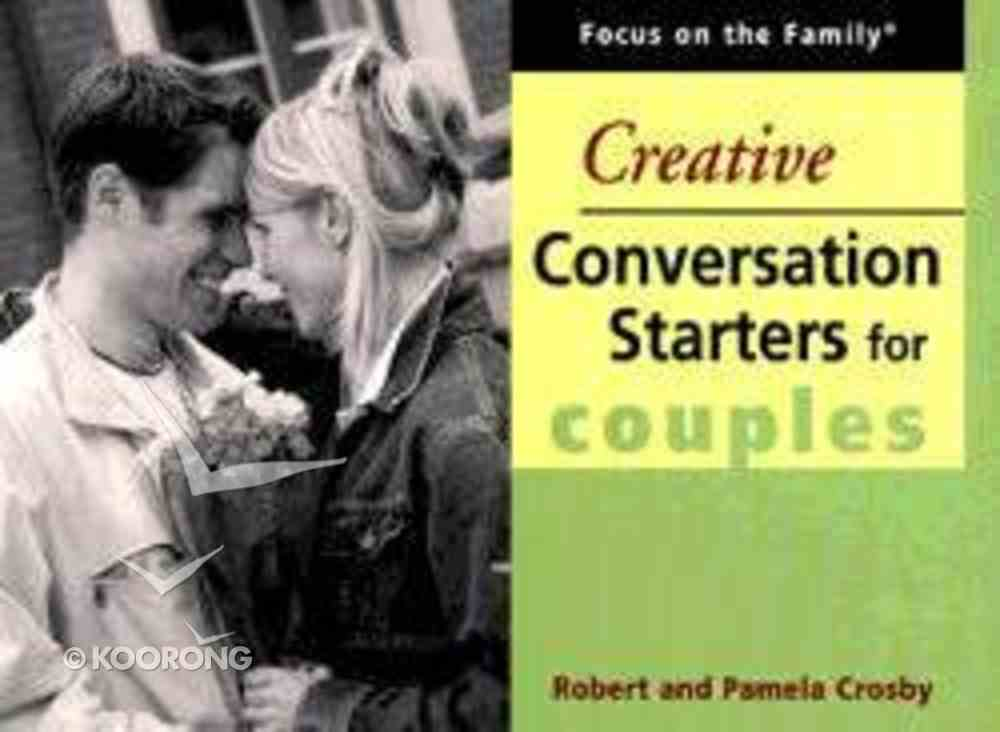 Creative Conversation Starters For Couples Paperback