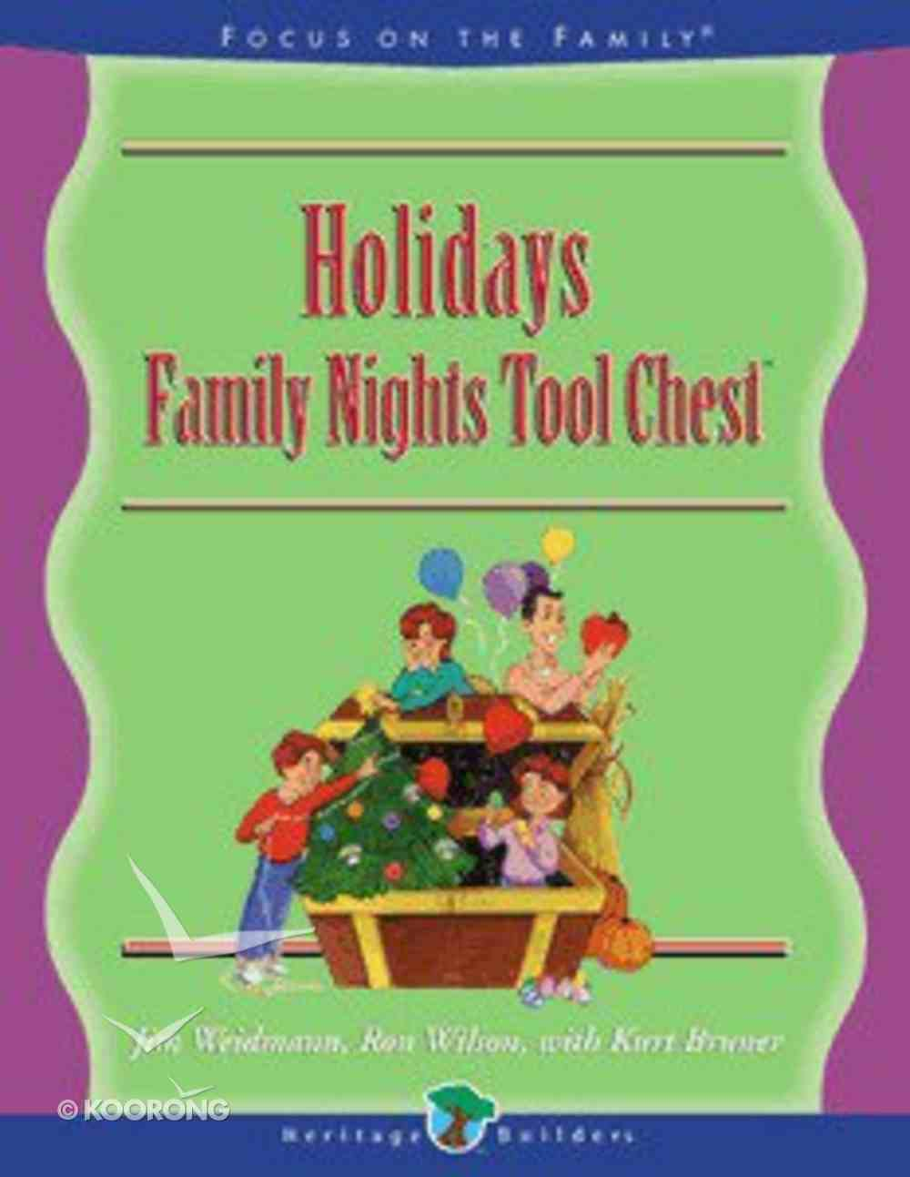 Family Nights: Holiday Family Paperback