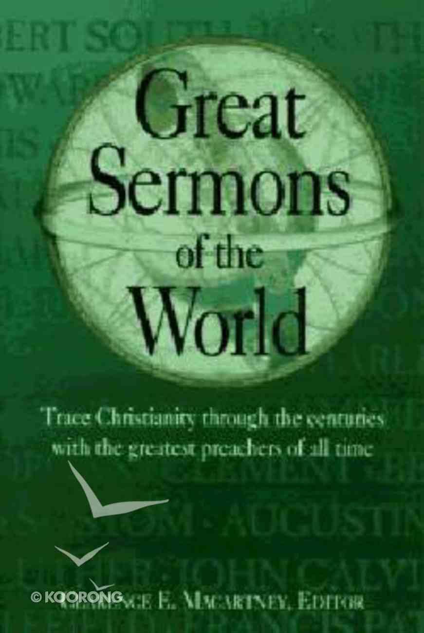 Great Sermons of the World Hardback