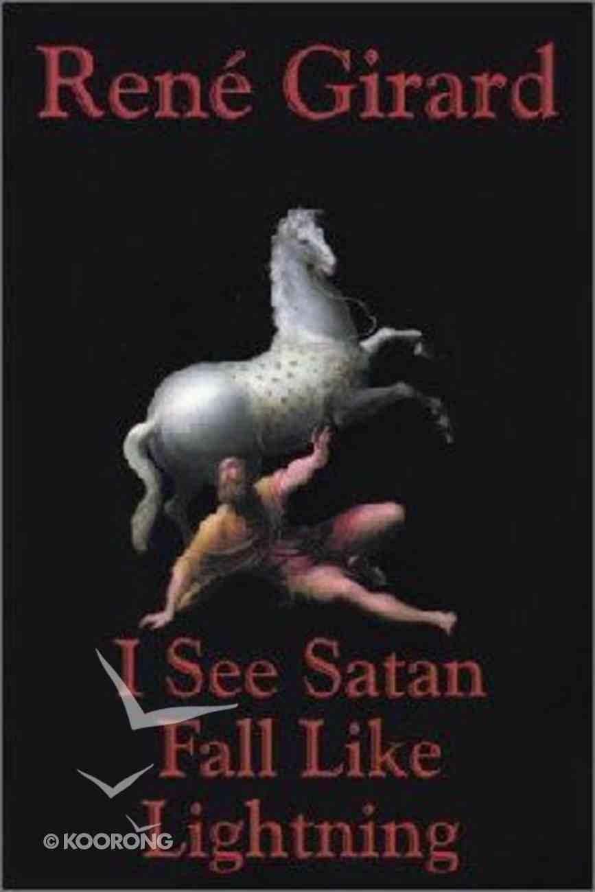 I See Satan Fall Like Lightning Paperback