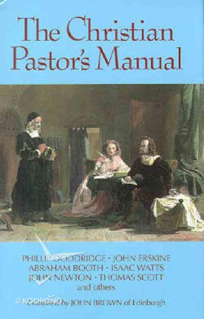 Christian Pastors Manual Hardback