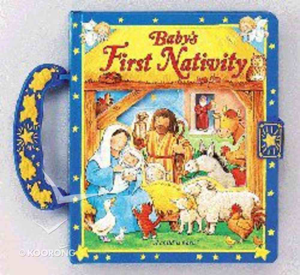 Baby's First Nativity (Case Book With Handle) Board Book