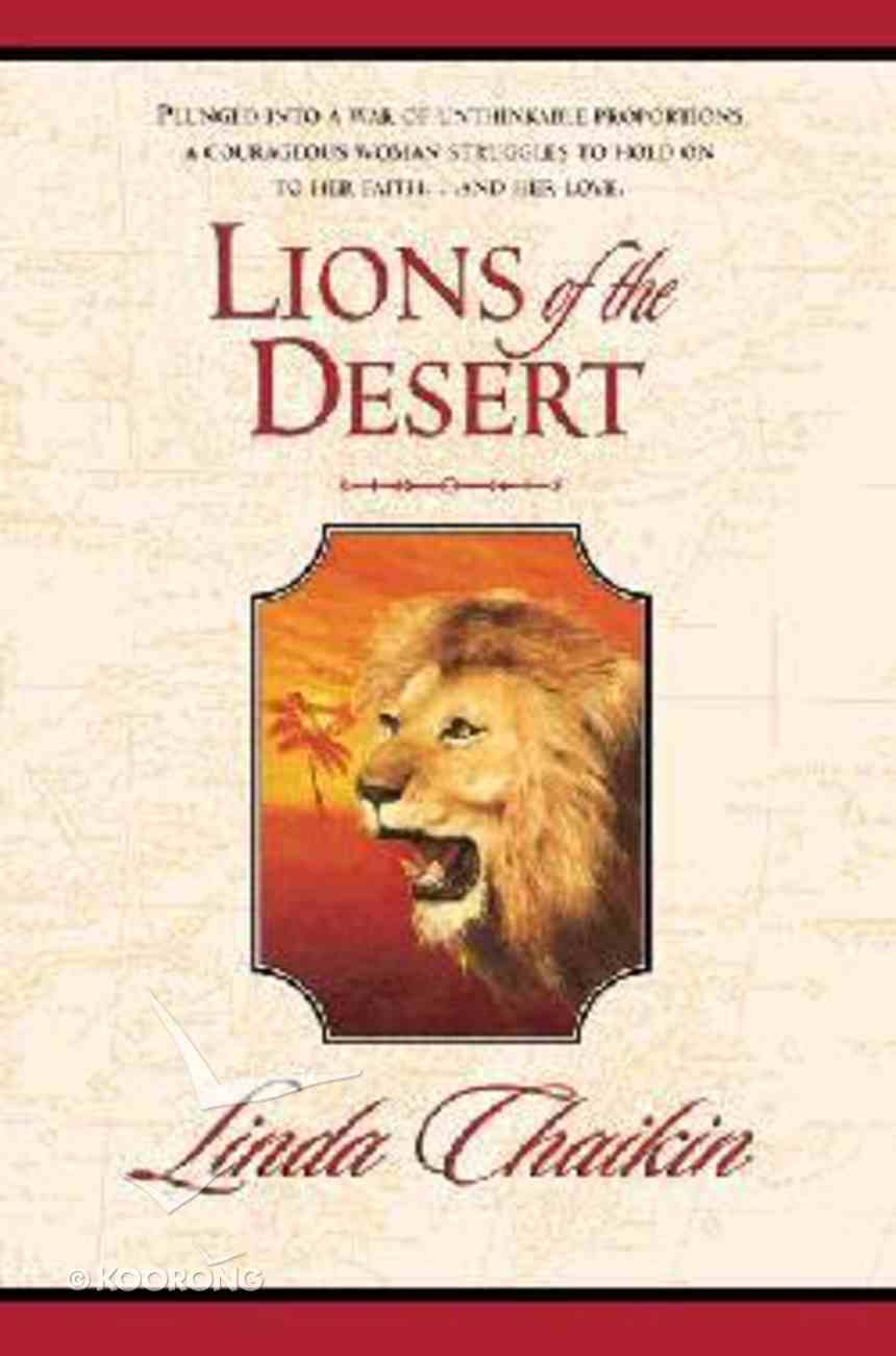 Lions of the Desert (#02 in Egypt Trilogy Series) Paperback