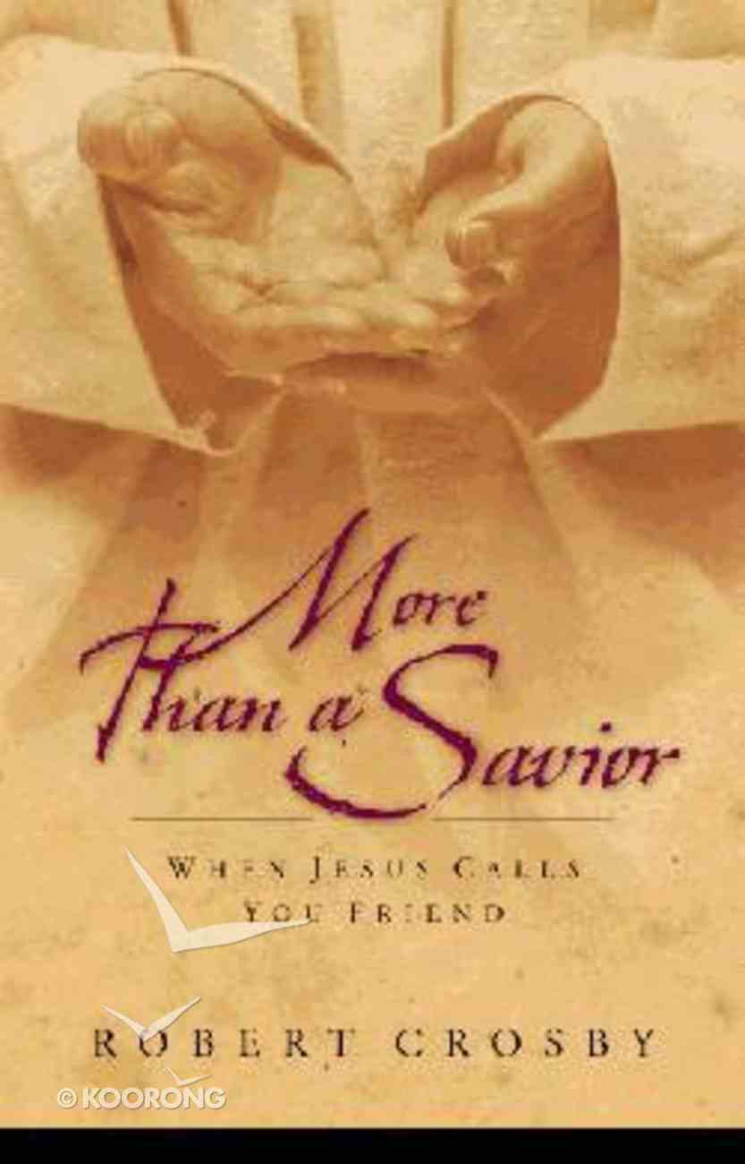 More Than a Savior Hardback