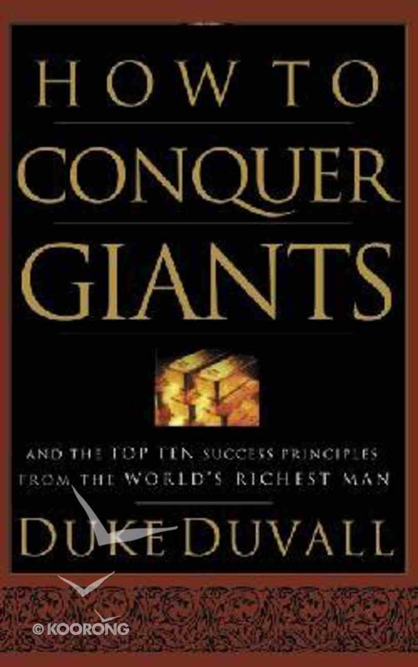 How to Conquer Giants Hardback