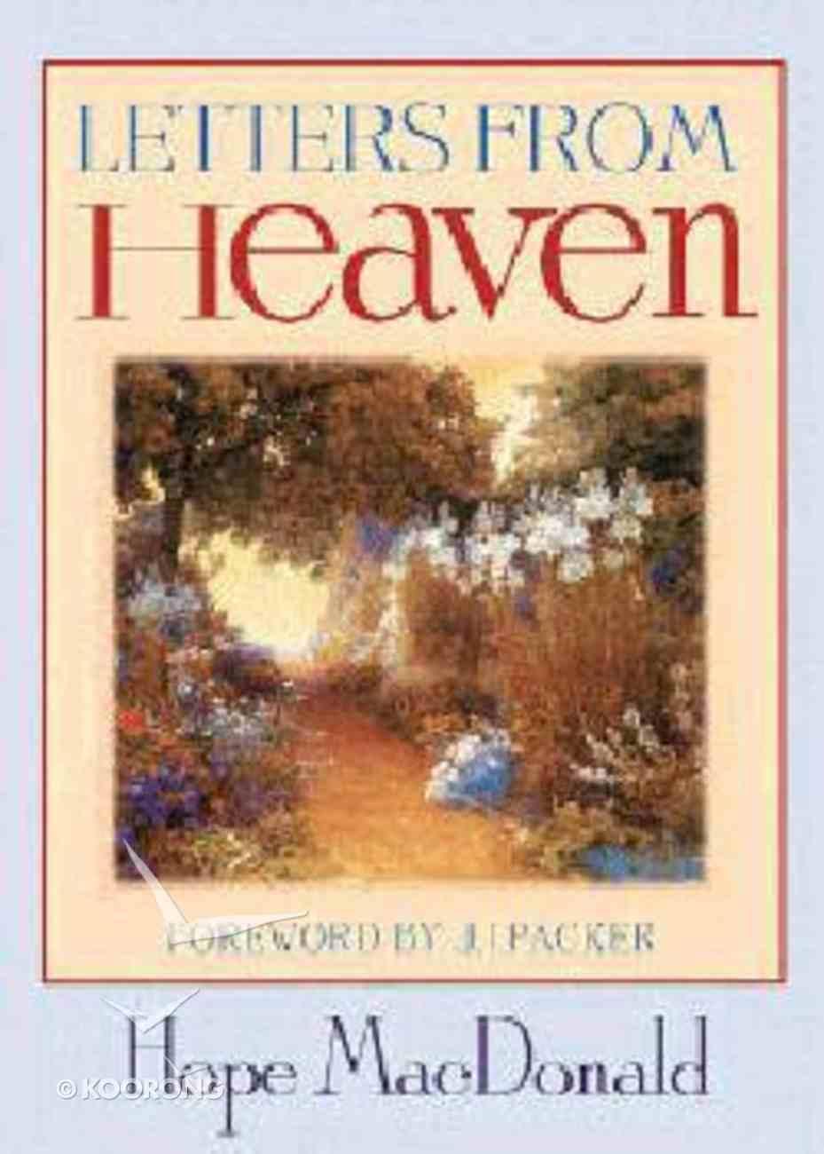 Letters From Heaven Hardback