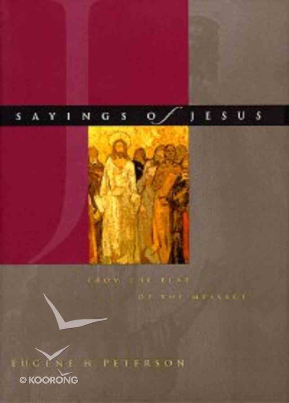 Sayings of Jesus Hardback