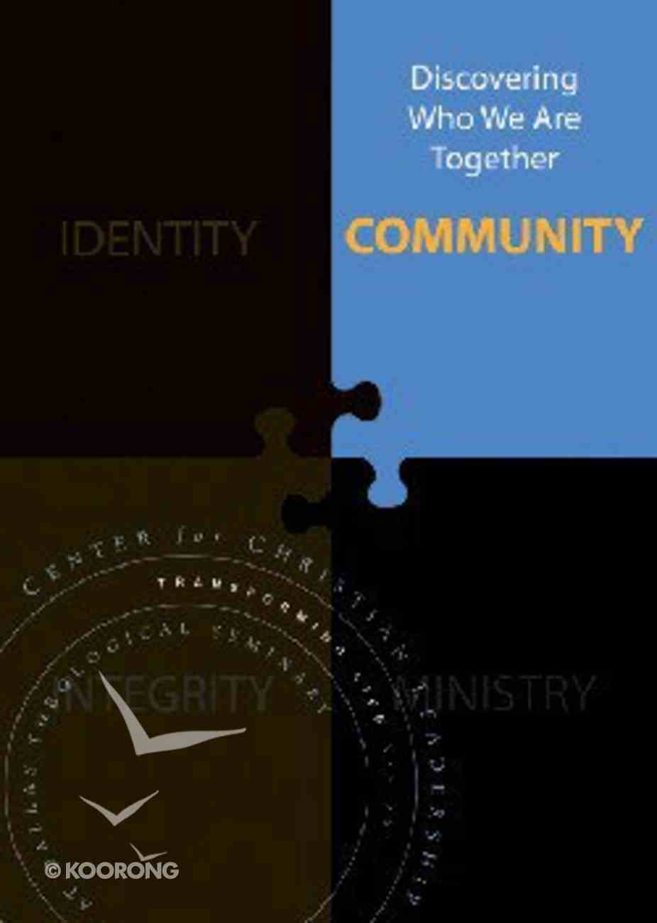 Community (Transforming Life Series) Paperback