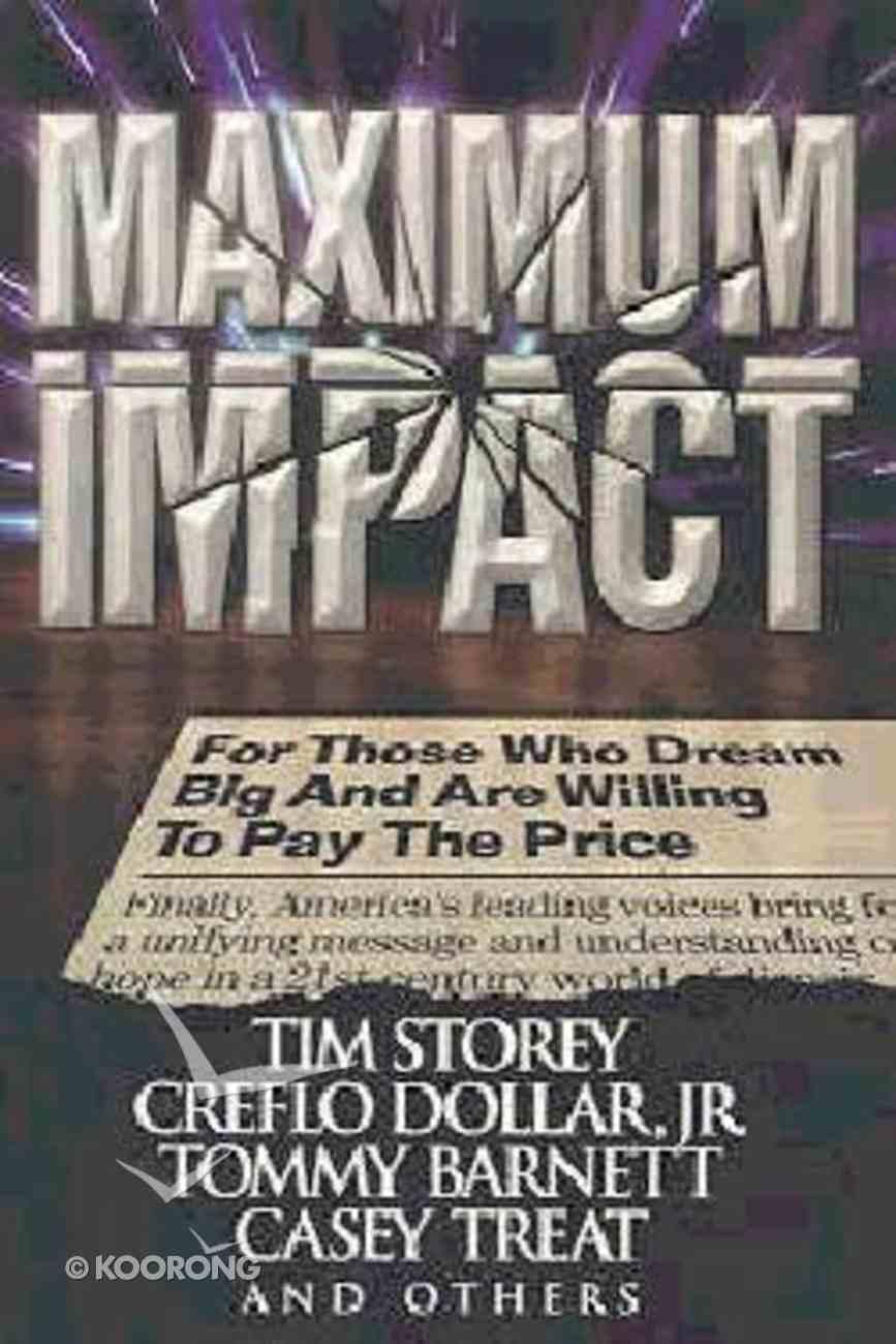 Maximum Impact Paperback